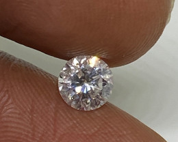 (5) Certified Nat $1342 Fiery 0.64cts SI2  White Round Loose Diamond