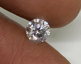 (6 ) Certified $1619 Fiery 0.70cts SI2  White Round Loose Diamond