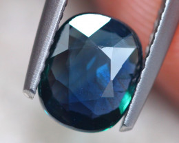 1.10Ct Natural Peacock Sapphire Unheated Oval Cut Lot B2252
