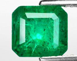 2.26 Cts Natural Vivid Green Colombian Emerald Loose Gemstone