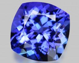 4.19 Cts AAA 9.81x6.20 rare Violet Blue Color Natural Tanzanite Gemstone