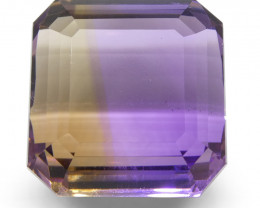 33.59 ct Square Ametrine