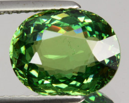 ~MIND BLOWING~ 4.46 Cts Natural Demantoid Garnet Green Oval Russia