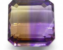 27.2 ct Square Ametrine