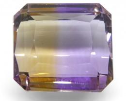 11.15 ct Emerald Cut Ametrine