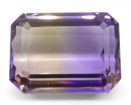 29.4 ct Emerald Cut Ametrine