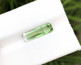 2.70 Ct Natural Bi Color Transparent Tourmaline Gemstone