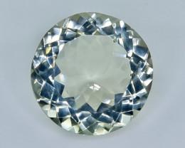 11.58 Crt  Green Prasiolite Amethyst Faceted Gemstone (Rk-63)