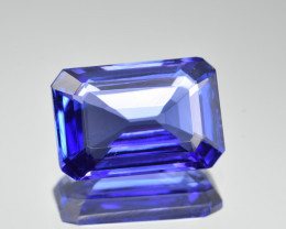 Natural Tanzanite 5.09 Cts AAA Quality Top Grade  Faceted Gemstone