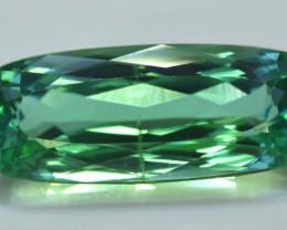 NR - 14.70 Carats Amazing Green Spodumene Gemstone