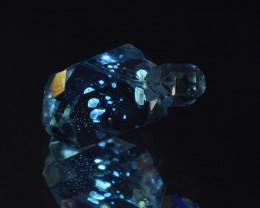 Rare Petroleum Quartz with Moving Bubble 6.04 Cts