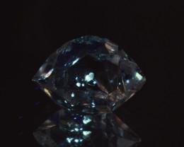 Rare Petroleum Quartz with Moving Bubble 6.62 Cts