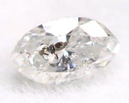 Salt And Pepper Diamond 0.10Ct Untreated Genuine Fancy Diamond A1402
