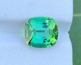 Loupe Clean 5.20 Ct Natural Mint Green Tourmaline