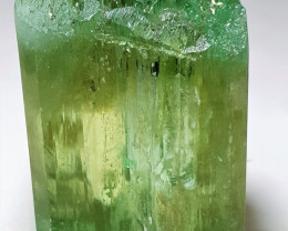 Huge Natural color faceted grade Hiddenite Double termination Crystal 3625C