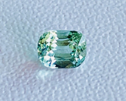 AAA Grade  2.75ct  Seafoam color Afghan  Tourmaline Gemstone