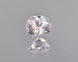 Natural Pink Topaz 0.46 Cts Rare Gemstone from Katlang, Pakistan
