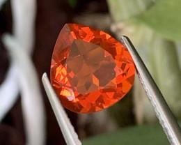 1.57 Cts Beautiful Fanta Color Natural Fire Opal Top Grade