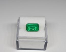 2.83 Carats Vivid Green AFGHAN (Panjshir) Emerald!