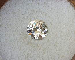 3,08ct White Zircon - Master cut!