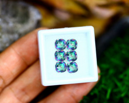 4.50cts Natural Rainbow Mystic Topaz Loose Stone Lots / MA328