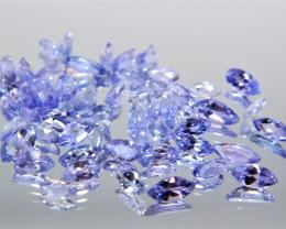 4.60 Cts 50 Pcs Amazing Rare Violet Blue Color Natural Tanzanite Gemstone L