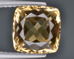 Natural Heliodor 3.41 Cts Top Luster