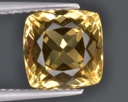 Natural Heliodor 3.42 Cts Top Luster