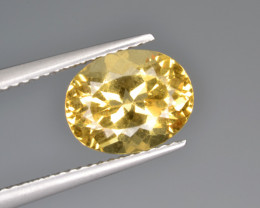 Natural Heliodor 2.68 Cts Top Luster
