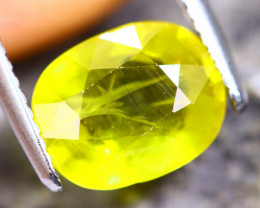 3.54cts Yellow Colour Sapphire / MA356