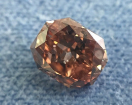 GIA Radiant Shape 1.00 Ct Fancy Deep Pink Brown Argyle Material Polished Di