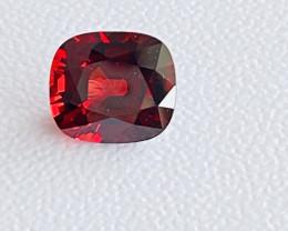 GLI Certified 8.12 Carats  Garnet Almandite  Gemstone