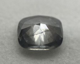 Cushion Shape Natural Gray Diamond