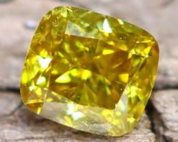Yellowish Green Diamond 0.20Ct Untreated Genuine Fancy Diamond A1503