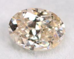 Peach Pink Diamond 0.15Ct Untreated Genuine Fancy Diamond B1505