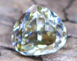 Bluish Yellow Diamond 0.11Ct Untreated Genuine Fancy Diamond B1512
