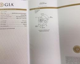 GIA-Fancy-White-Diamond-Report