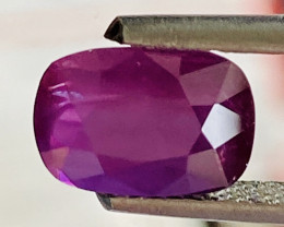 GIL certified 2.55 Carats Ruby Gemstone
