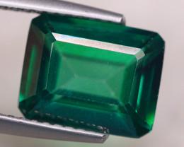 3.95ct Natural Green Topaz Octagon Cut Lot S142