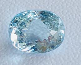 GIL Certified 13.06 Carats Aquamarine Gemstone