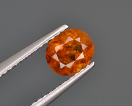 Natural Clinohumite 0.81 Cts From Afghanistan