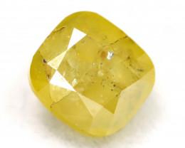 0.29Ct Natural Untreated Fancy Yellowish Green Diamond BM0235