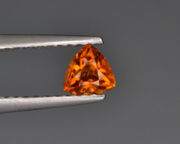 Natural Clinohumite 0.37 Cts From Afghanistan