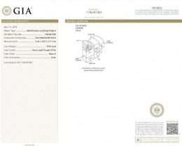 Center Diamond GIA Grading Report