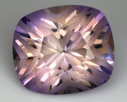 12.45 Cts Bolivian Ametrine Stunning Luster & Cut Gemstone  AM2