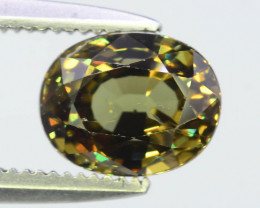 1.65 ct Demantoid Garnet ~K