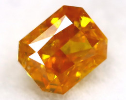 Orange Diamond 0.14Ct Untreated Genuine Fancy Diamond AT0374