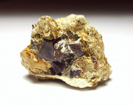 Amazing Natural Damage free Garnet combine with Pyrite specimen 110Cts-A