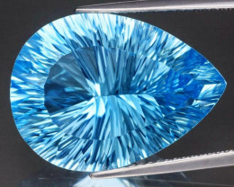22.88 ct. 100% Natural Earth Mined Top Quality Blue Topaz Brazil
