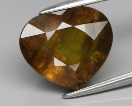 5.19 ct 100% Natural Earth Mined Unheated Greenish Yellow Sapphire, Tanga